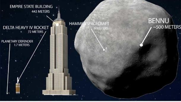 """Asteroid Bennu: Sonde """"Osiris Rex"""" fotografiert erstmals ihr Ziel"""