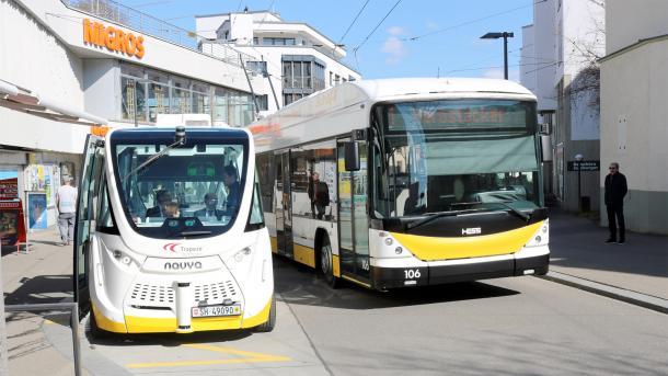 Autonome Busse: Schweizer bei Sicherheitsfragen skeptisch