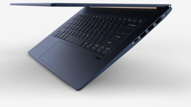 Acers leichtes 15-Zoll-Notebook kostet ab 1200 Euro