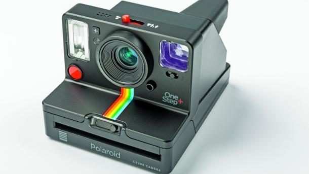Polaroid OneStep+, eine Sofortbildkamera mit App