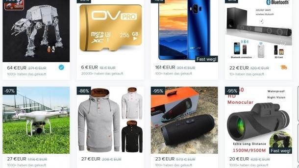 Verbraucherschützer: Zunehmend Beschwerden über Shopping-App Wish