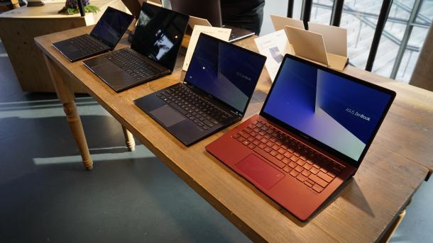 Asus renoviert die ZenBooks