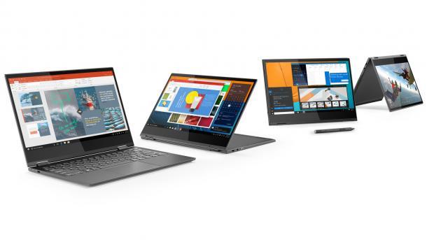 Lenovo erneuert Angebot an Yoga-Notebooks