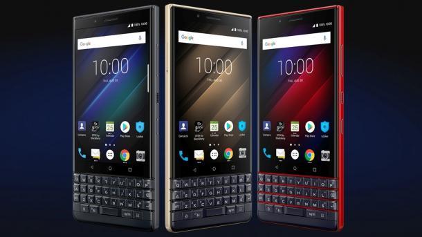 BlackBerry Key 2 LE: Günstigeres Tastatur-Smartphone in Bunt