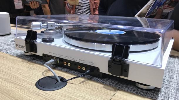 Der Yamaha: Erster Multiroom-kompatibler Plattenspieler