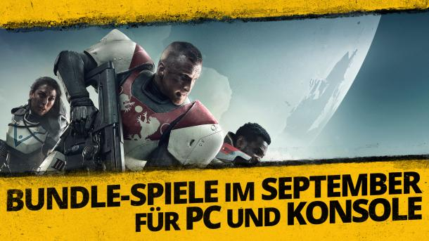 September-Vollversionen bei PS Plus, Humble Monthly, Xbox Gold und Twitch Prime