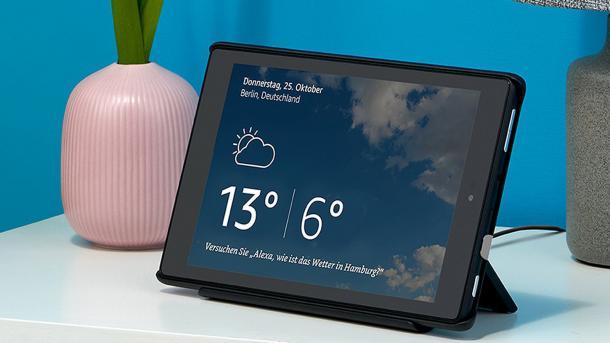 """Amazon: Neues 8""""-Tablet mit Dock und Alexas Show-Modus"""