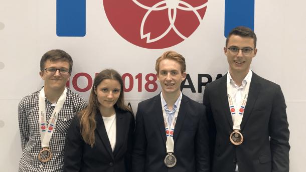 Informatik-Olympiade 2018: Drei Medaillen für deutschen Informatik-Nachwuchs