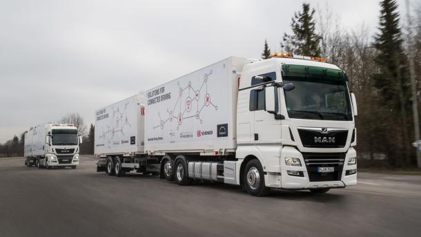 Studie: Autonomes Fahren kann Logistik-Kosten halbieren