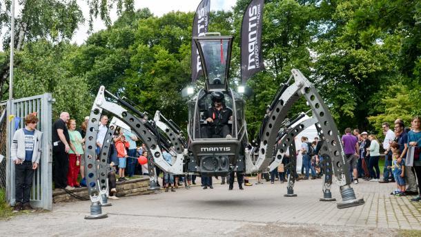 Mantis auf der Maker Faire Hannover