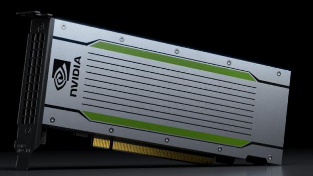 Nvidia Tesla P4: K.I.-Beschleuniger mit 8 TFlops bei 75 Watt Leistungsaufnahme