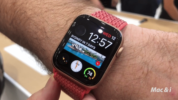 Apple Watch Series 4 im Hands-on