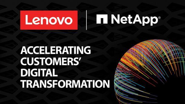 Lenovo und NetApp schließen strategische Partnerschaft