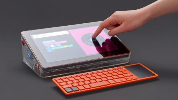 Kano: Computer-Kit für Kinder nun mit Touchscreen-Bildschirm
