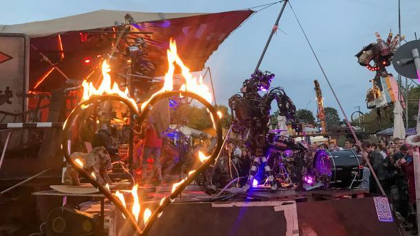 Robodonien 2018: Kölns Roboter-Kunst-Festival feiert 10-jähriges Jubiläum