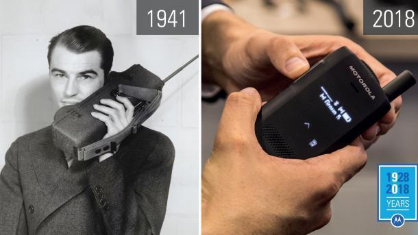 90 Jahre Motorola: Motorcar traf Ola