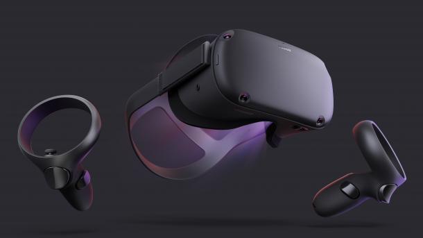 Oculus Quest: Autarke VR-Brille mit echten Hand-Controllern für 400 US-Dollar