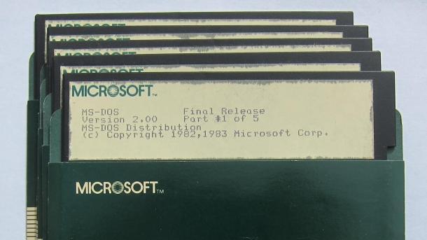 Microsoft stellt MS-DOS-Quellcode auf GitHub bereit