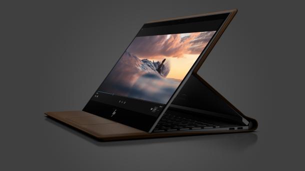 Spectre Folio: HP stellt Hybridnotebook im Lederkleid vor