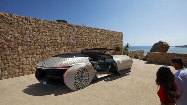 Autonomes Elektroauto: Renault zeigt Luxus-Shuttle EZ-Ultimo