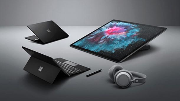 WIP - Vier Mal neues Surface: Alles schwarz, und vieles schneller