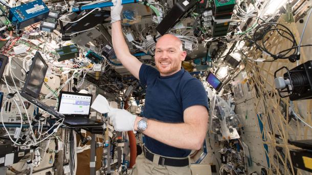 Alexander Gerst übernimmt als erster Deutscher das ISS-Kommando