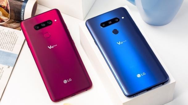 LG V40 ThinQ: LGs Spitzen-Smartphone hat fünf Kameras