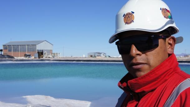 Deutsche Unternehmen wollen in Bolivien Lithium fördern