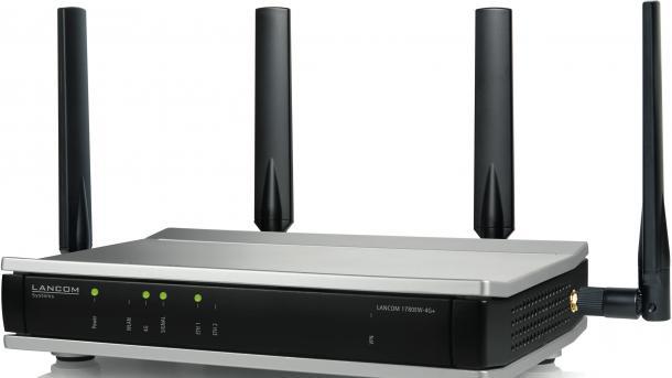 WLAN-Sicherheit: Firmware-Update bringt WPA3 auf Lancom-Router