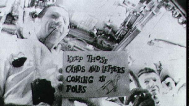 Vor 50 Jahren: Verschnupft und motzend im All – die bizarre Mission Apollo 7