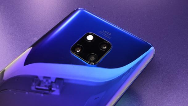 Huawei Mate 20 Pro mit 3D Face Unlock und Triplekamera