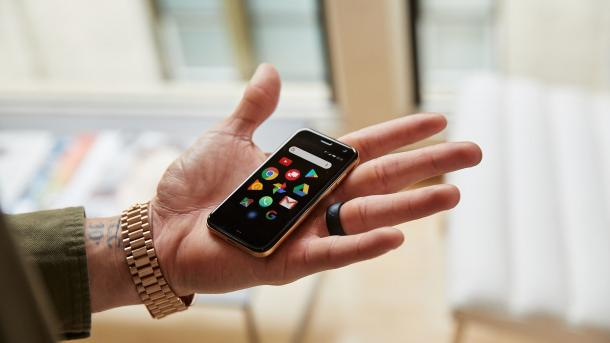 Neues Palm-Handy: Rückkehr als Accessoire-Smartphone