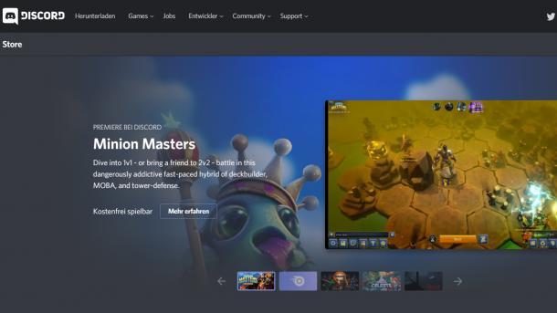Discord bietet eigenen Abo-Dienst für Spiele an