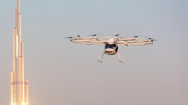 Volocopter will Flugtaxis in Singapur testen