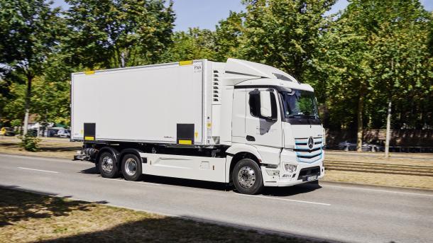 Bundestag befreit Gas- und Elektro-Lkw von der Mautpflicht