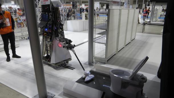 World Robot Summit: Wenn der Roboter das Klo putzt