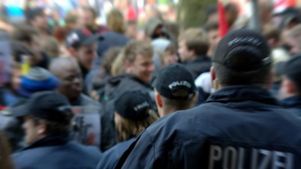 Polizei postet Demo-Fotos im Internet und wird verklagt