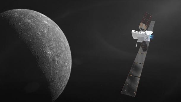 Flug zum Merkur: Europäisch-japanische Raumsonde sendet erstes Signal
