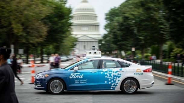 Autonome Autos: Ford testet selbstfahrende Fahrzeuge in Washington D.C.