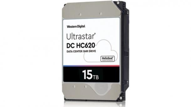 WD bringt SMR-Festplatte mit 15 TByte
