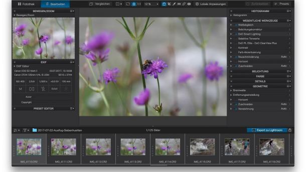 Lightroom-Alternative: DxO bringt PhotoLab 2