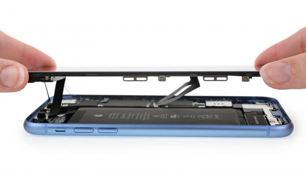 """iPhone XR zerlegt: """"Das Beste aus iPhone X und iPhone 8"""""""