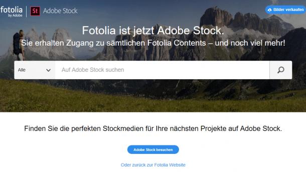 Fotolia geht in Adobe Stock auf