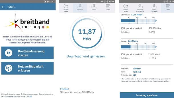 Jagd auf weiße Flecken: Funkloch-App der Bundesnetzagentur ist nutzbar