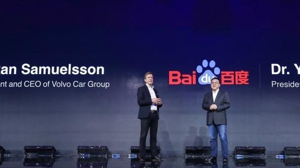 Baidu und Volvo forschen gemeinsam am autonomen Elektroauto