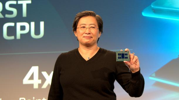Erste Details zu AMDs 7-nm-Zen2-Architektur