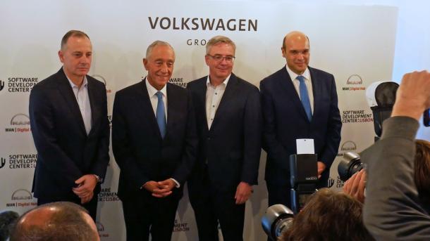 Volkswagen eröffnet Entwicklungszentrum in Lissabon