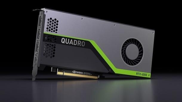 Nvidia Quadro RTX 4000: Raytracing-Beschleuniger für Profis im Single-Slot-Design