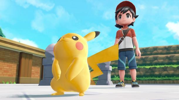 Pokémon Let's Go Pikachu: Sympathische Neuauflage mit enttäuschenden Altlasten