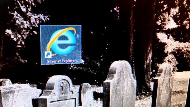 Kommentar zum Internet Explorer: Ein Gespenst geht um im World Wide Web